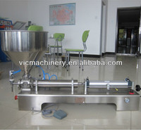 Horizontal Type One Head Ointment Filling Machine with CE certificate