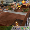 waterproof wood plastic composite sheet outdoor flooring