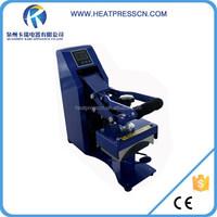 heat press cap with piston