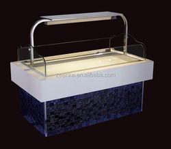open display cake showcase/used refrigerated supermarket equipment