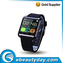 """1.5"""" inch TFT Capacitive Touch Screen dialer GSM sport water resistant bluetooth smart u8 watch hot new products for 2015"""