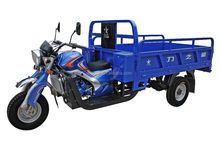 Cruiser Adult Cargo Carrier Tricycle 250cc for Africa / Three Wheel Heavy Load Motorcycle