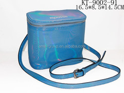 Trending Fashionable PU Leather Ladies Cross Body Bucket Handbag Mobile Phone Case