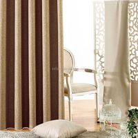 2015 new design blackout curtains, bamboo fabric
