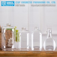 TB-DC500 500ml smooth hot-stamping beautiful short supplied water pet bottle design