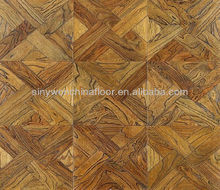 Embossing Ash 15/2 Engineered Parquet Flooring with Walnut Color