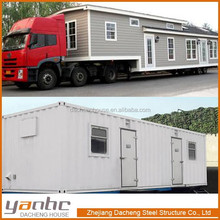 Prefabricated Modified 20Ft/40Ft Container House Caravan