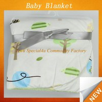 MOQ 10pcs soft fleece kids blanket winter warmly baby minky blanket SPB-013