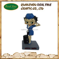 2015 Newly Sexy Girl Custom resin figurine Betty Boop Statue
