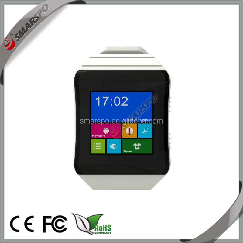Alibaba Best Selling, 2014 Latest 3G Smart Watch with Phone Calls, Wifi, Bluetooth and Music Colorful Smart Watch