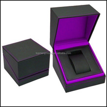 New Design Luxury Leather Storage Boxes, Knit Pattern and Stitches Leather Watch Box