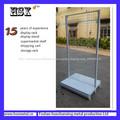 DUPLO - Lado metal grade de arame Malha gôndola prateleiras hsx-s1202