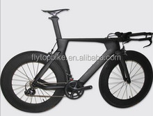 Carbon complete bike TT road bike Aerodynamic design carbon TT handlebar carbon road bike for sale