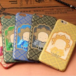 The Lovely Cartoon Young Monk Print PC Case Cover For iphone 6