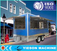 Fast Food Van Mobile Restaurant