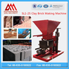 Diesel or Electric power SL1-25 hydraulic Semi-automatic interlocking brick making machine most profitable business