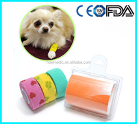 J591-How Medic Printed Cohesive Support Bandage Pet Dog