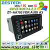 Pure Android capacitive screen car auto gps navi for Audi A3 S3 car dvd with 3g wifi, BT, USB