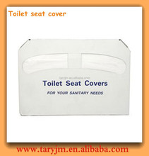 10Pcs 1 Pack Disposable Paper Toilet Seat Covers For Travel/airline/hotels