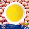 el aceite de alta tasa de rendimiento de la prensa de aceite de maní para
