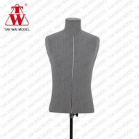 High quality child upper half body model fiberglass mannequins