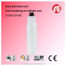 wholesale toner cartridge supplier with 2120D 2210D compatible copier toner for Ricoh copier