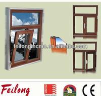 Good sealing casement window inward opening pattern wih AS2047 standard