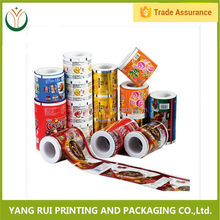 Customized Flexible Packaging potato chips packaging film,plastic roll film,ketchup plastic film roll
