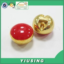 factory plastic gold sewing button