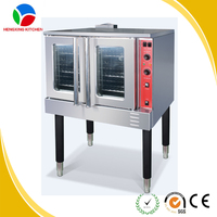 High quality commercial convection oven big capacity LPG NG gas baking oven