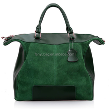 Handbag factory reuseable large utility ladies fringe suede bag, nubuck bag
