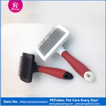 Hot Sale Soft Pet Products Slicker Brush for Dog Cleaning Grooming
