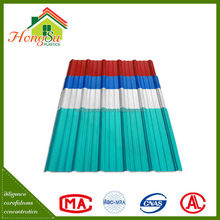 New product Promotion corrosion resistance 2 layer colorful plastic roofing tile for sale