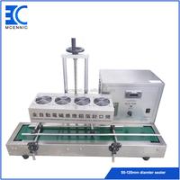 Automatic continuous desktop aluminum foil induction sealer GLF-1800 Big cap