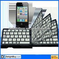 Bluetooth 3.0 Folding Keyboard for New iPad (iPad 3) / iPad 2 / iPhone 4 & 4S / Tablet PC, Operating Distance: 10m