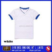 Custom school wear t shirt to your satisfaction color for students