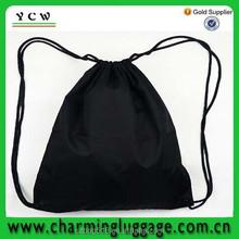 custom printing sport drawstring backpack bag/ gym ball sack backpack drawstring bag