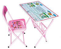 kids folding table and chair sets for American