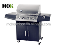 iron window railling grill european barbecue stainless steel outdoor gas bbq grill