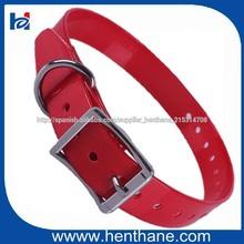 Buen rendimiento Collar de perro rojo TPU para Mascotas Perros