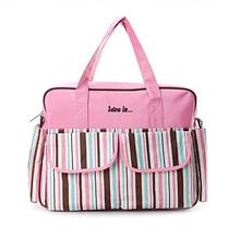 Waterproof Tote Womens Handbag Portable Baby Diaper Nappy Bag