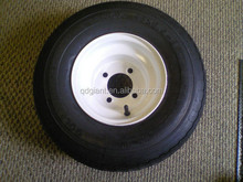 Golf Cart Tire and Rim 18 X 8.50 X 8 with White 4 Lug Hole
