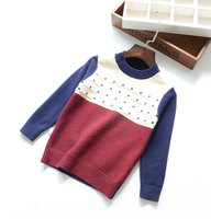 C66470A Children's Boutique cotton sweater Cotton wool blended pullover sweater for kids