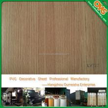 vinyl film plastic laminate sheet for door furniture