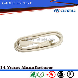 SPT-3 Appliance Indoor Cord With 15A Plug Dual Safety Listings With UL/cUL