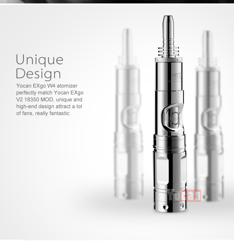 ELV Amazing new Nero technology mod type newset wax vaporizer Yocan Exgo W4