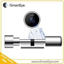 Fingerprint Digital Door Lock Cylinder Push Lock Remote Control Electric Door Lock