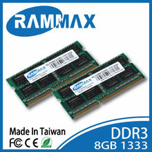 RAMMAX High speed ram cheap and new ddr3 512*8 16chips ddr3 1333mhz 8gb CL9 PC10600 204PIN memory laptop notebook for macbook