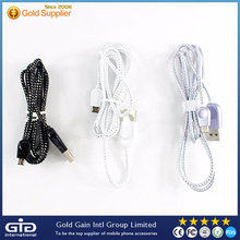 [GGIT] 1M/2M/3M Micro USB Cable 2.0 Mobile Phone Cable Data Charger Power Flat Cord Wire for all Mobile Phone OEM Supported