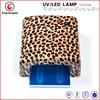 uv finger nail UV lamp gel curing timer nail dryer